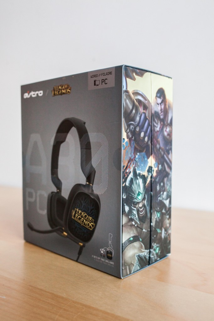League of Legends ASTRO A30 Headset Box
