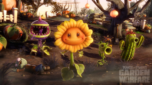 PvZ Garden Warfare: Plants