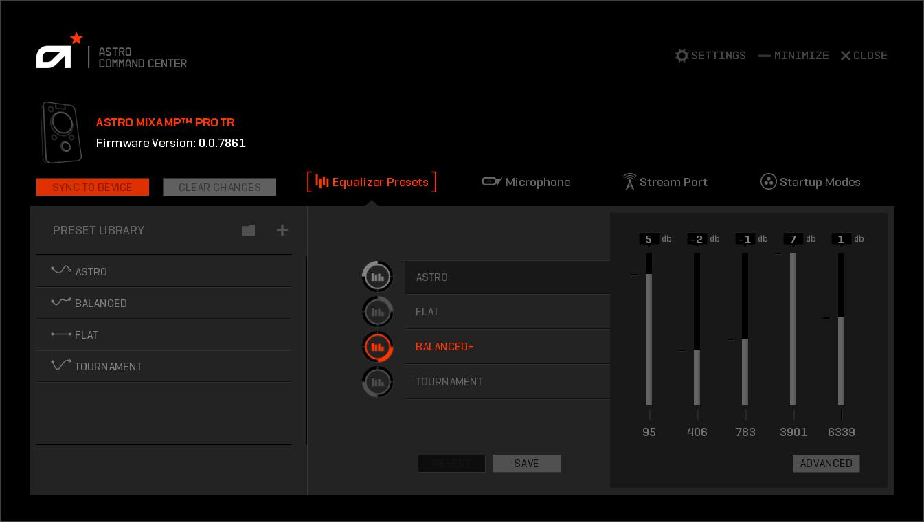 astro mixamp pro tr xbox one firmware