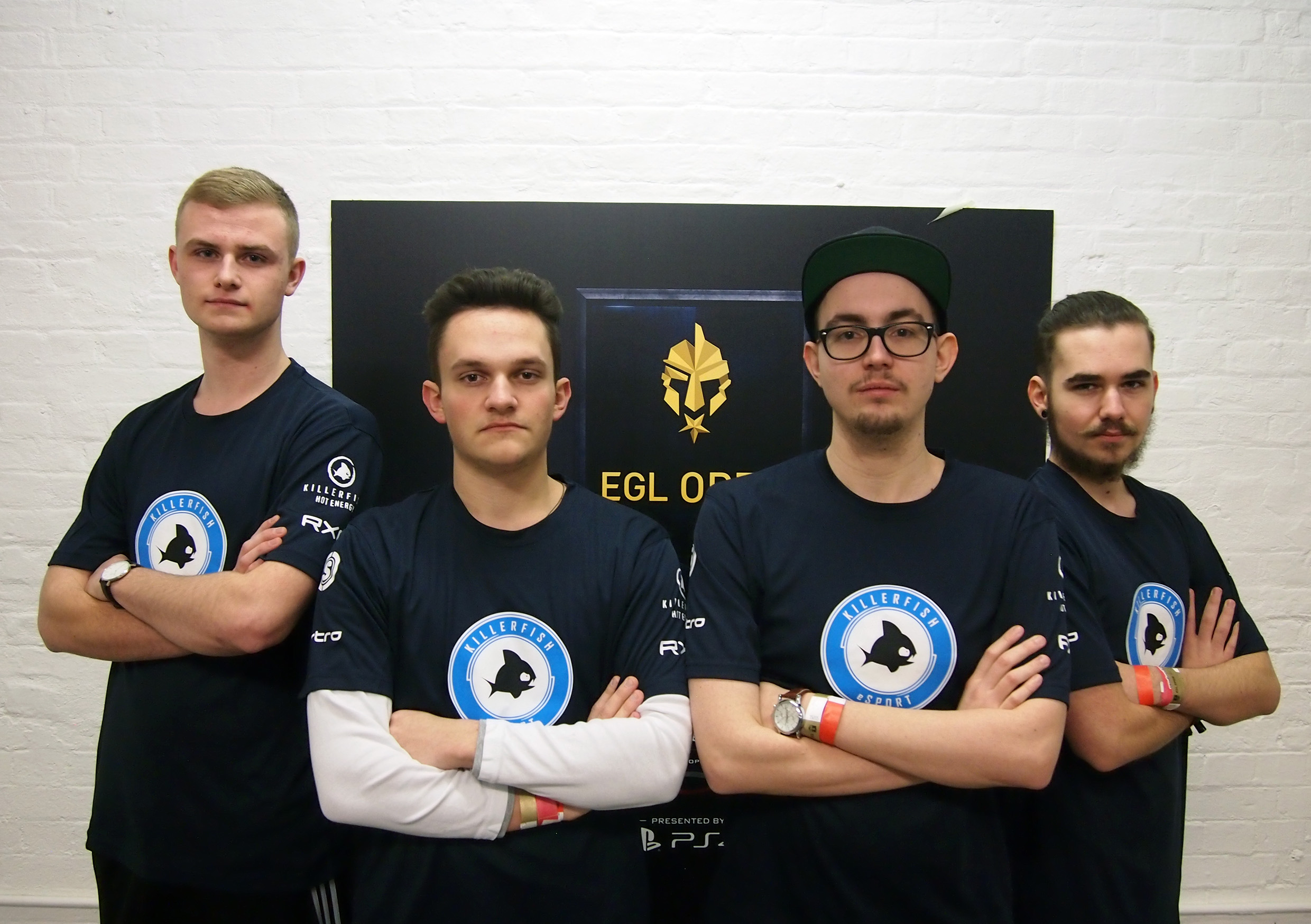 Das Call of Duty Team von KILLERFISH eSport