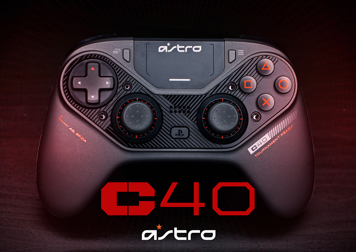 C40 TR Controller for PlayStation 4 & PC. Hyped ✔