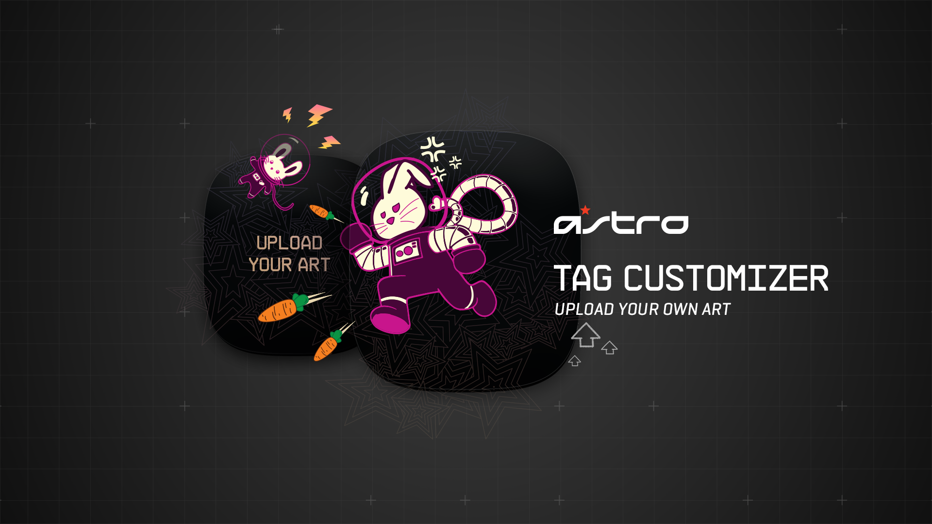 ASTRO Custom Speaker Tag Customizer Guide